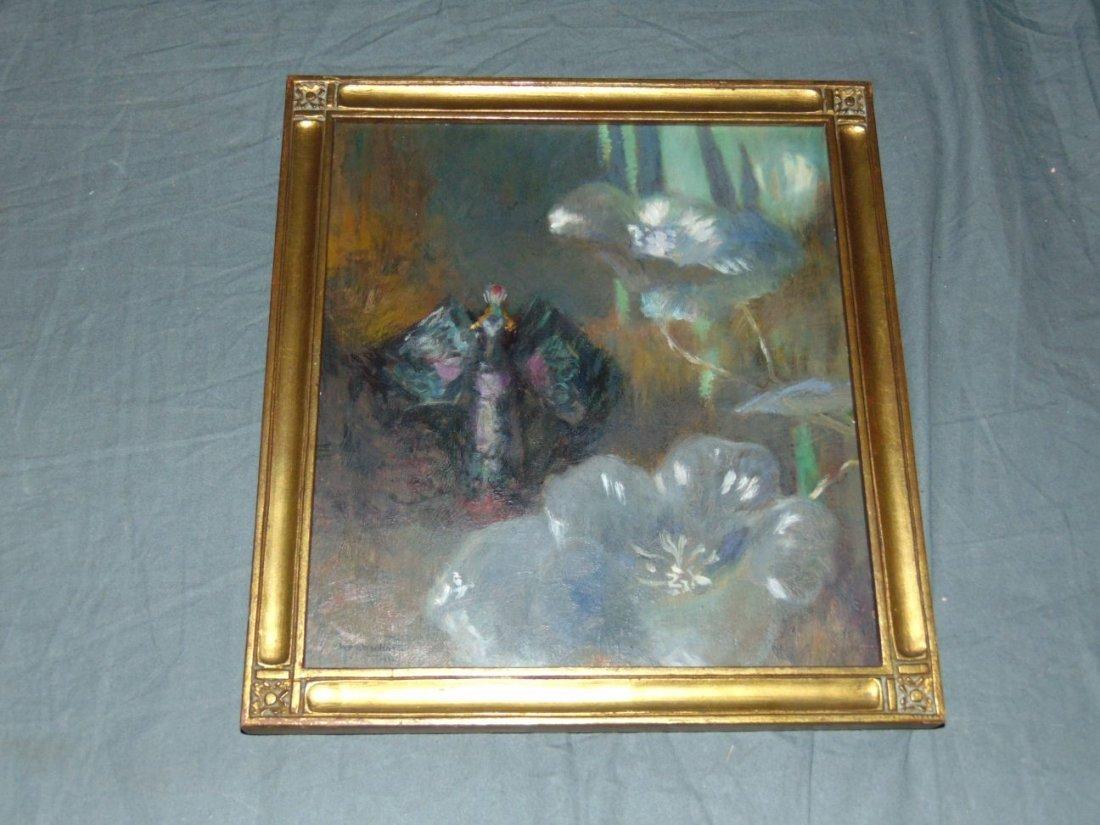 William John Whittemore (1860 - 1955), Oil on Wood - 3