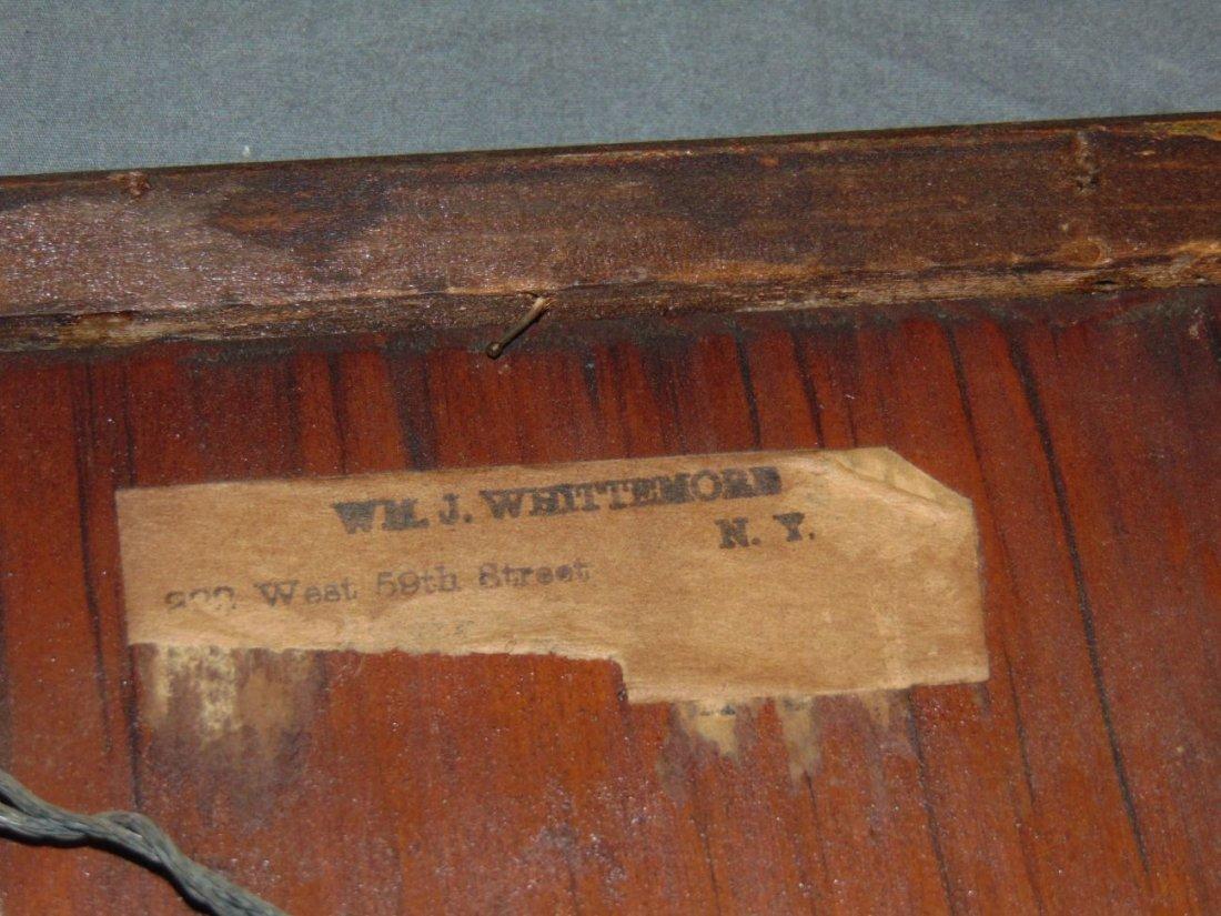 William John Whittemore (1860 - 1955), Oil on Wood - 4