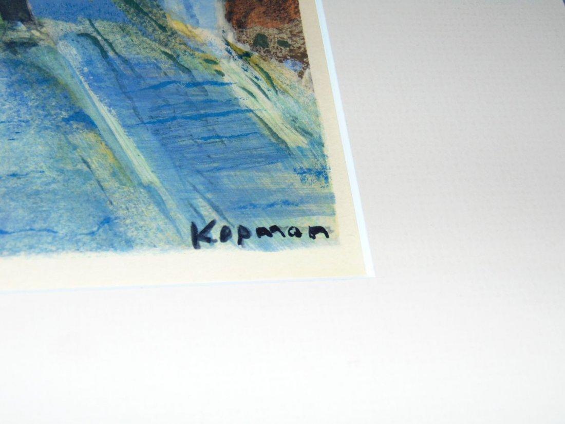 Benjamin Kopman (1887 - 1965) Ink Wash on Paper - 2