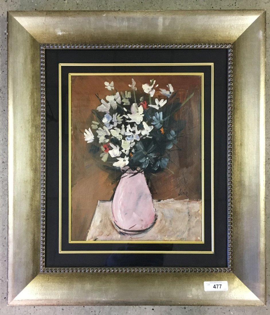 Charles Levier (1920-2004), Signed Oil on Board