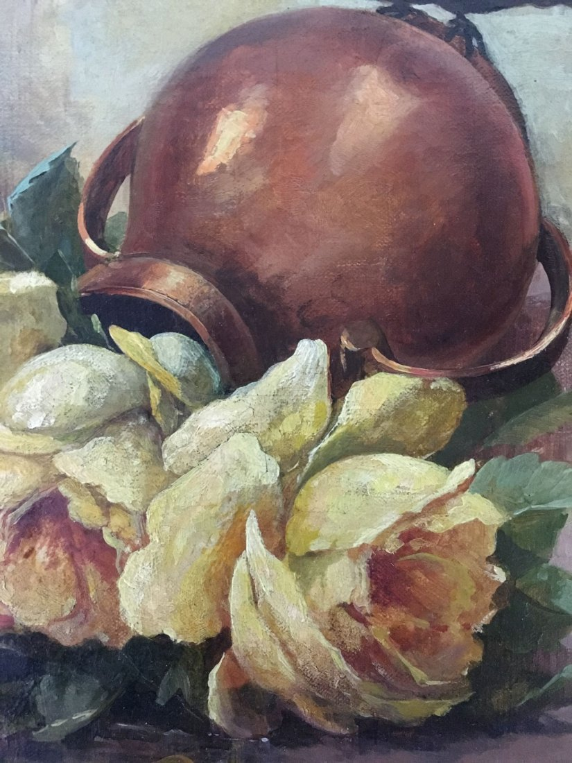 Oil on Canvas, Signed Ch. L. Mery - 5
