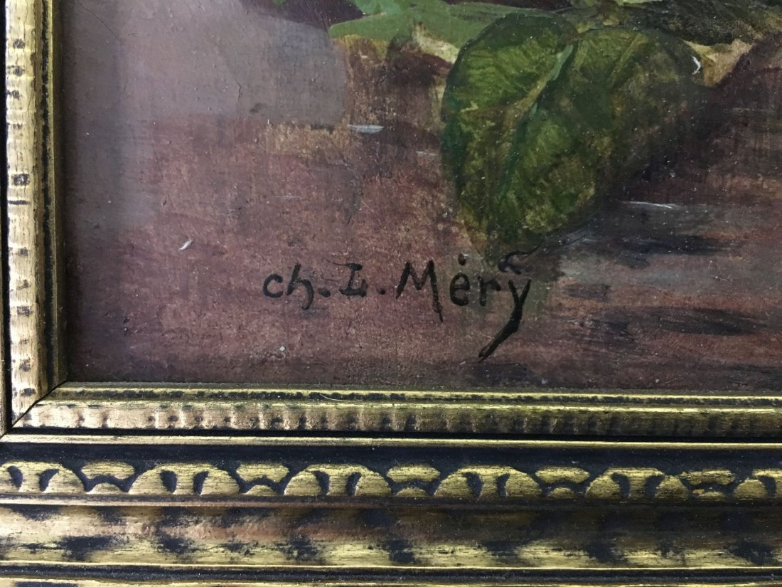 Oil on Canvas, Signed Ch. L. Mery - 6