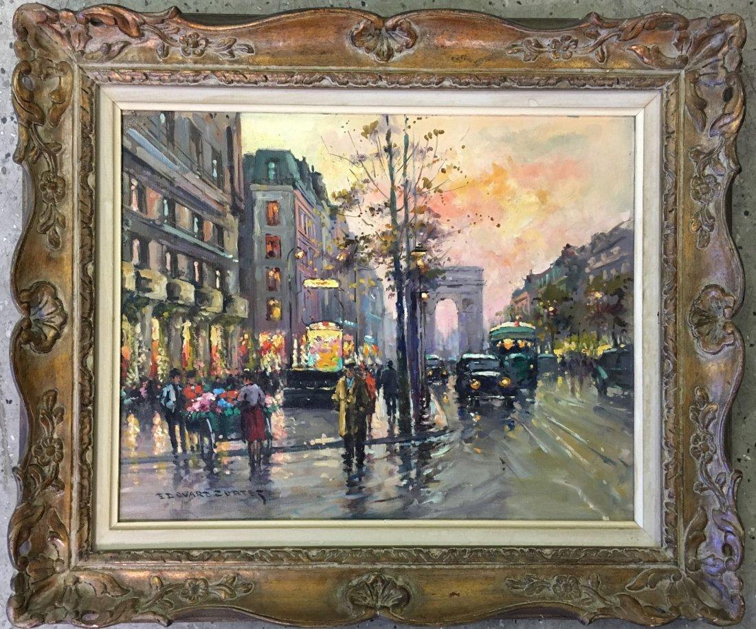 Edouard Leon Cortes  (1882 - 1969) Oil on Canvas.
