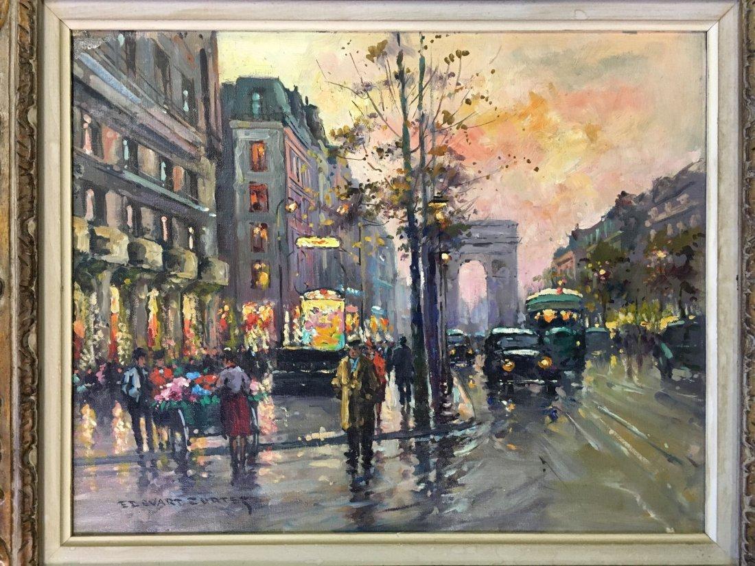 Edouard Leon Cortes  (1882 - 1969) Oil on Canvas. - 2