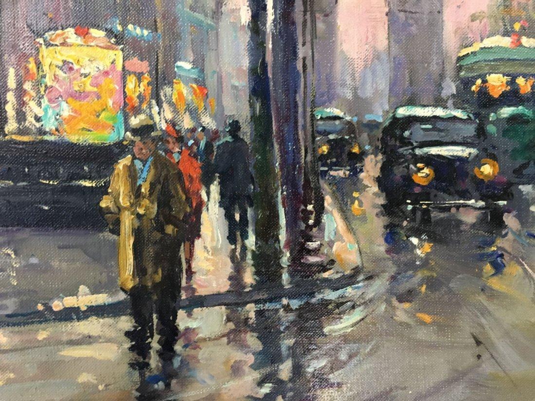 Edouard Leon Cortes  (1882 - 1969) Oil on Canvas. - 3