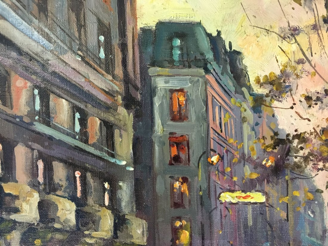 Edouard Leon Cortes  (1882 - 1969) Oil on Canvas. - 4