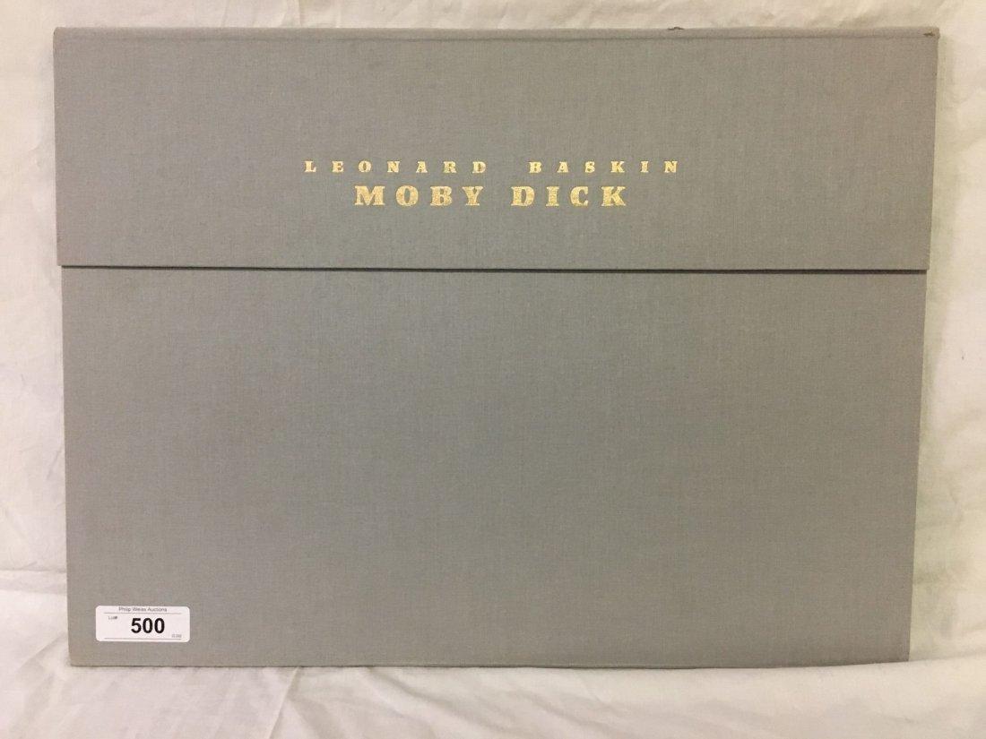 Leonard Baskin, Signed Moby Dick Suite 8 Lithos - 4