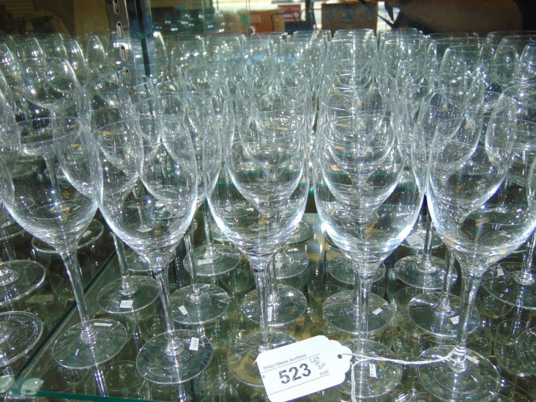 Orefors Stemware. Lot of 20.