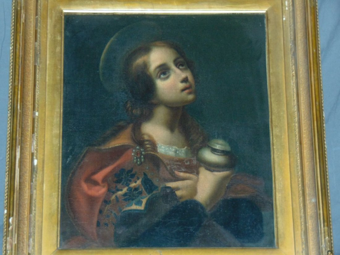 Circa late 18th-Early 19th century Painting.
