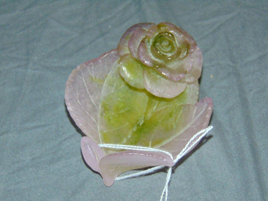 Daum Ring Tray/Bud Vase Att: Loetz - 4