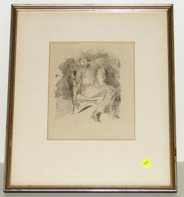 1010: JAMES MC NEILL WHISTLER. LITHOGRAPH.