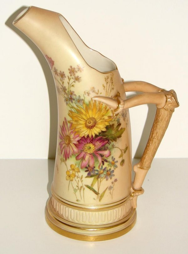1023: ROYAL WORCESTER PITCHER.