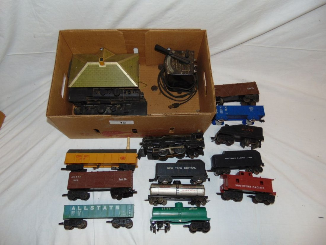Large Lot of Marx Trains