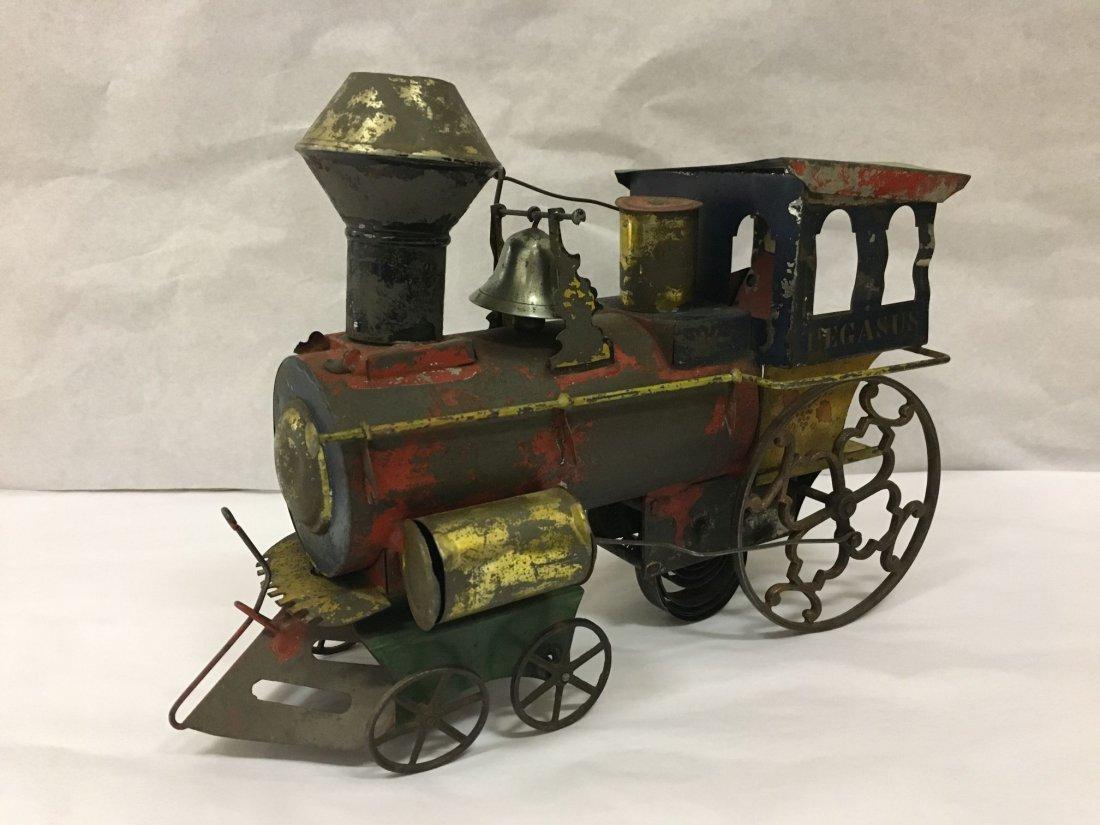 Rare. Stevens & Brown Railway-Floor Train Pegasus.