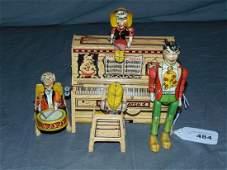 Tin Litho Li'l Abner Dogpatch Band, Unique Art