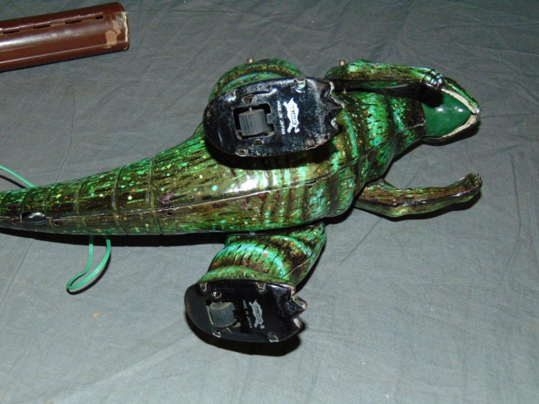 Rare, Boxed Bullmark Japanese Tin Litho Godzilla - 6