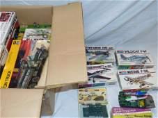 Lot of Model Kits.
