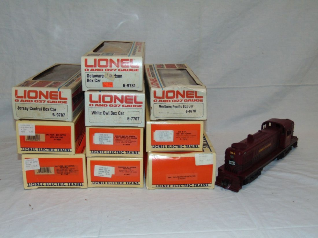 Lot of 10 MPC Boxed Freight Cars