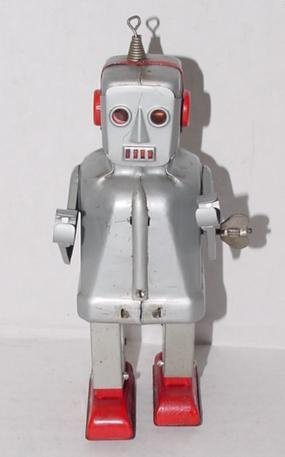 2003: WIND UP SPARKY ROBOT