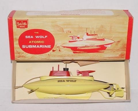 2005: SEA WOLF ATOMIC SUB WIND UP IN BOX