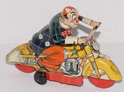 2009: TIN LITHO WIND UP CLOWN CYCLE