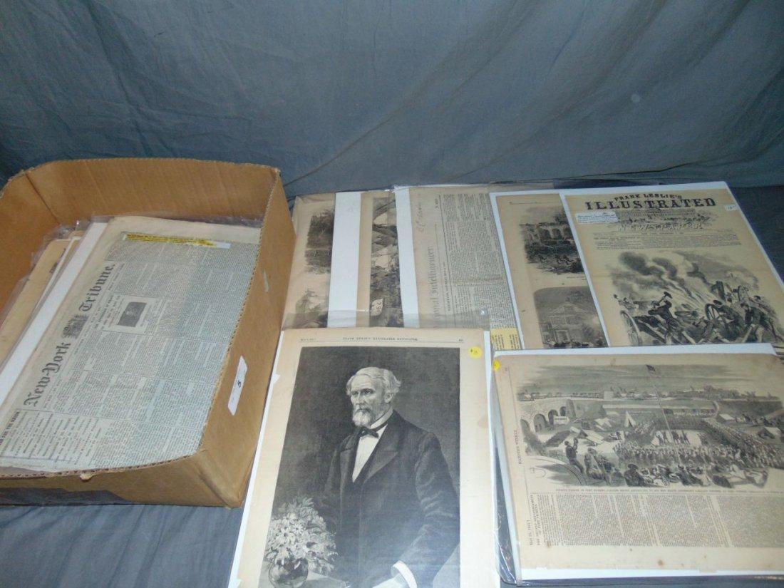 Civil War Paper Lot.