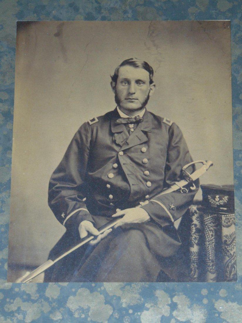 Civil War Photo. Naval Ensign.