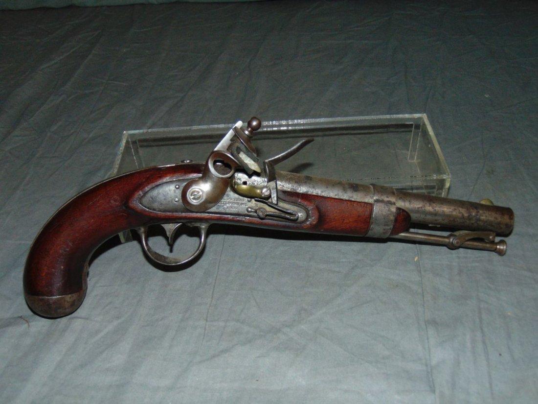Flintlock Pistol.