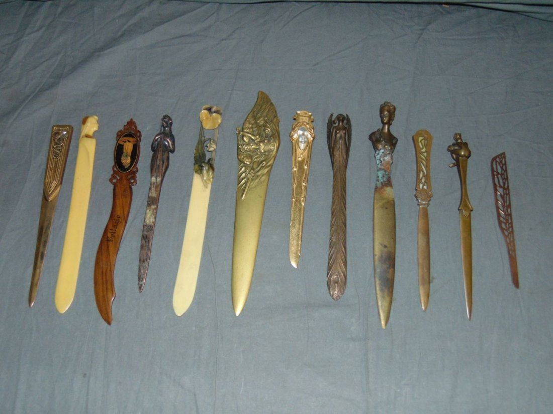 Fabulous Collection of Letter Openers.