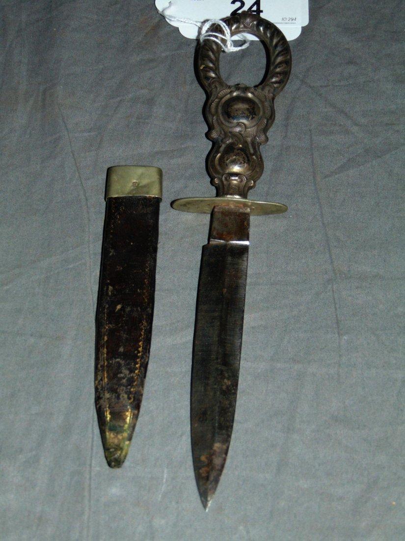 Civil War Soldiers Belt Knife.