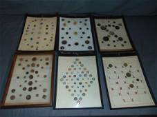 Vintage Mounted Button Collection