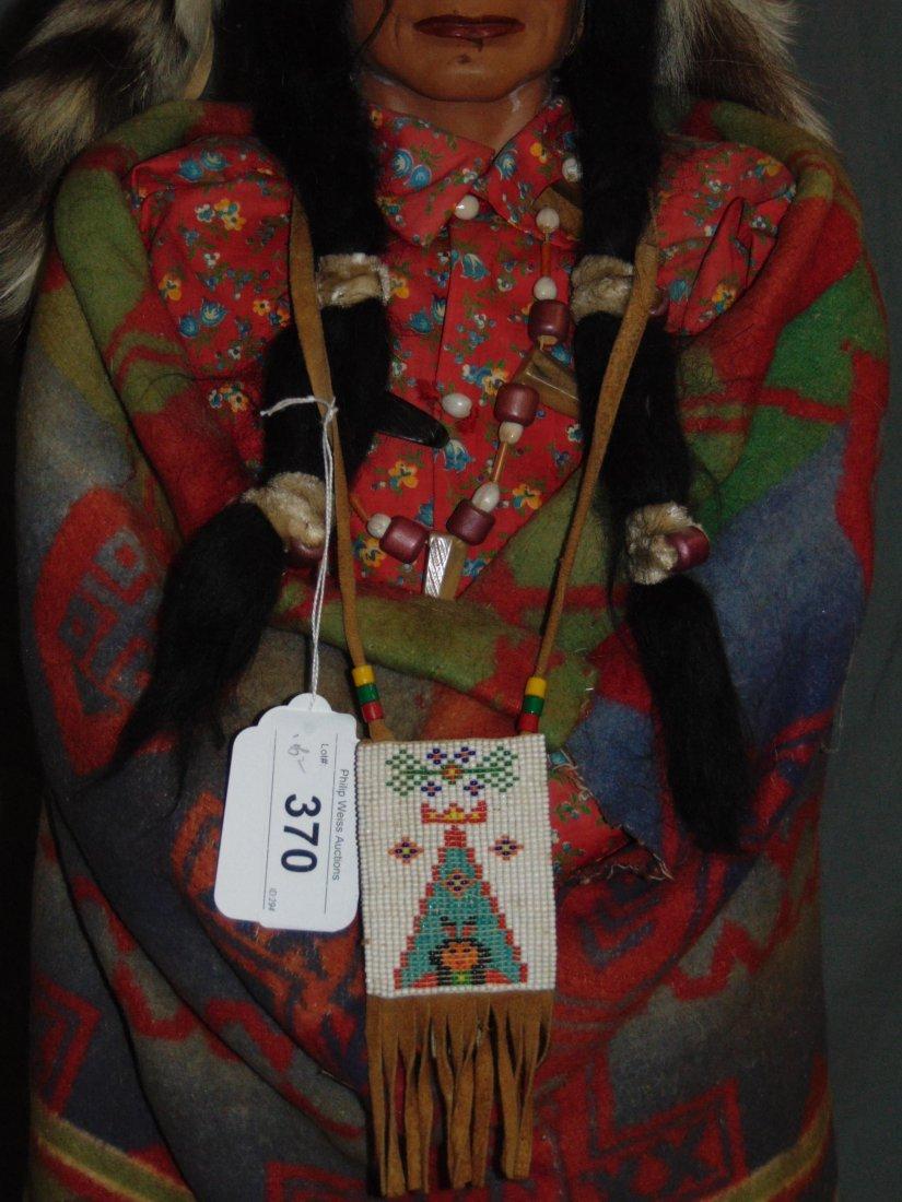 Skookum Doll Pair. Store Display. - 5