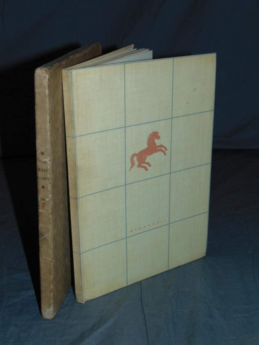 John Steinbeck. The Red Pony. Signed Limited.