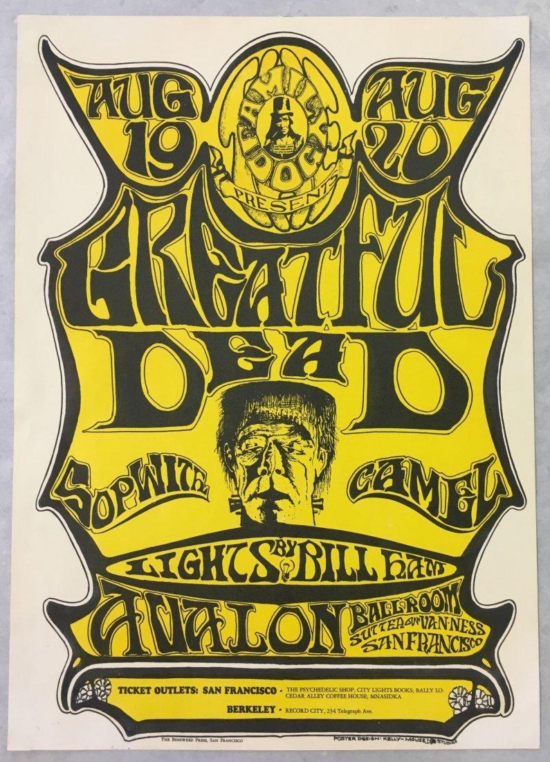1966 Grateful Dead FD22 Concert Poster, 1st Print