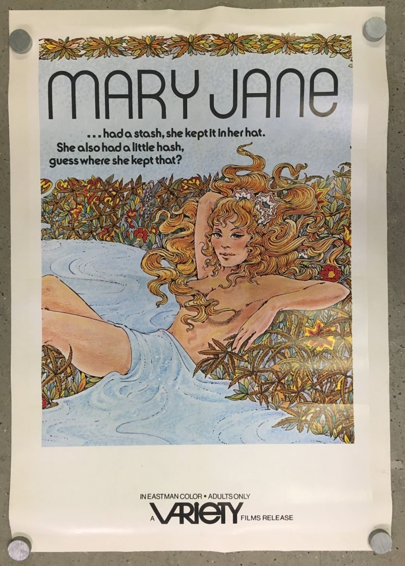 1972 Mary Jane, Adult One Sheet Movie Poster