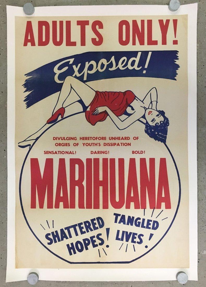 1936 Marihuana, Cult Classic One Sheet Poster