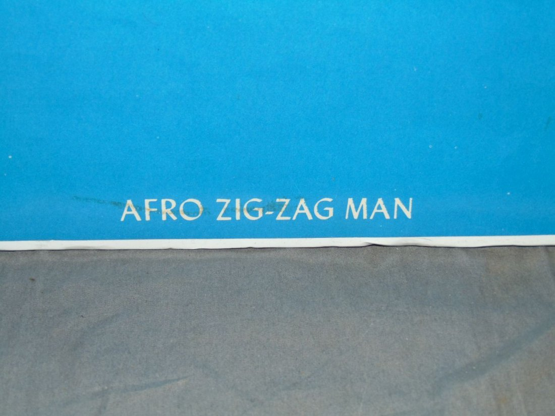 1973 Afro Zig Zag Man Blacklight Poster, Pennewell - 5