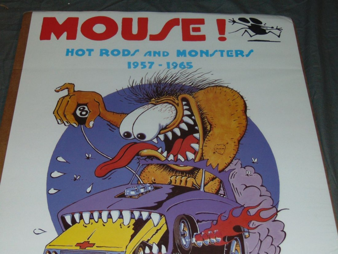 Stanley Mouse Hot Rods & Monsters Poster, 1988 - 2
