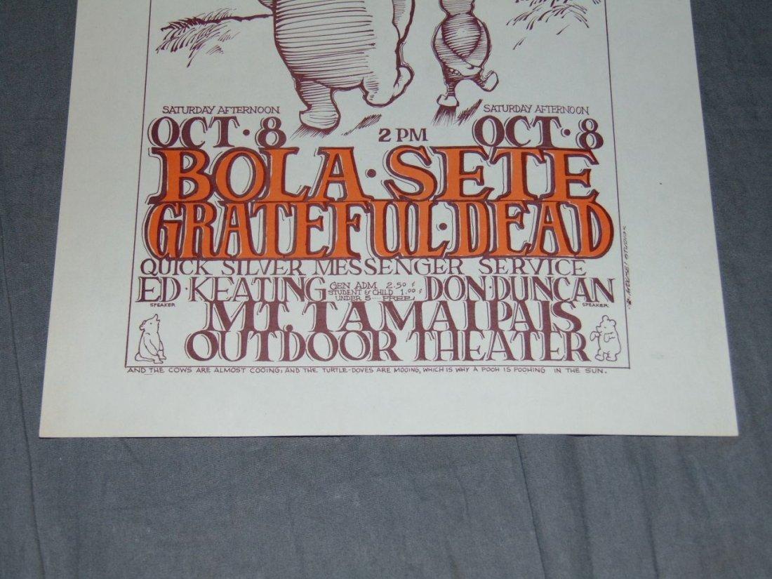 Grateful Dead Concert Handbill Oct 8 1966 - 3