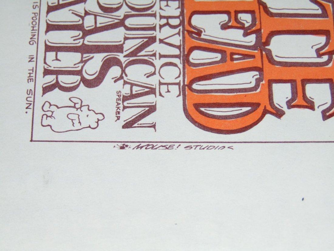 Grateful Dead Concert Handbill Oct 8 1966 - 4