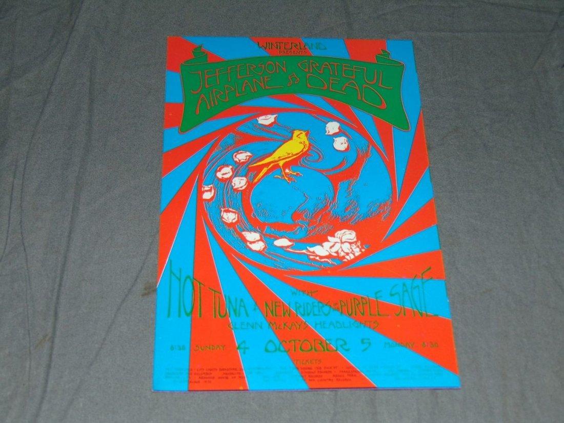 (2) Jefferson Airplane Concert Handbills - 2