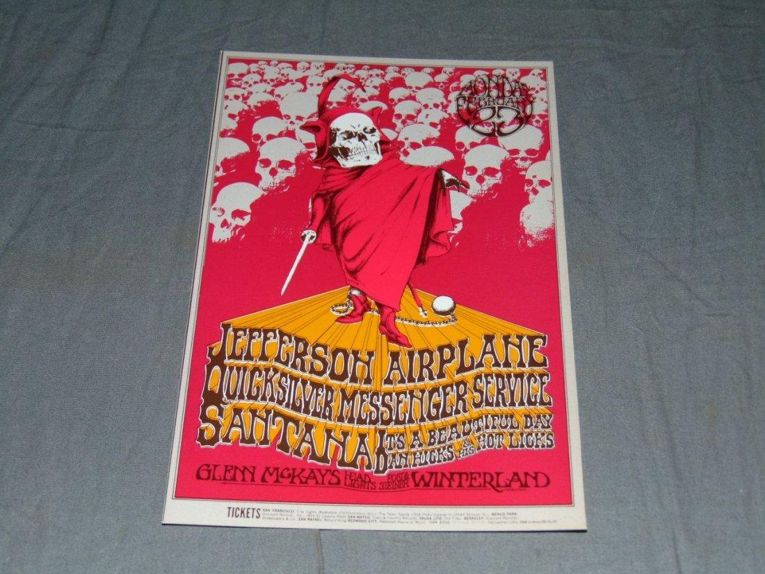 (2) Jefferson Airplane Concert Handbills - 4