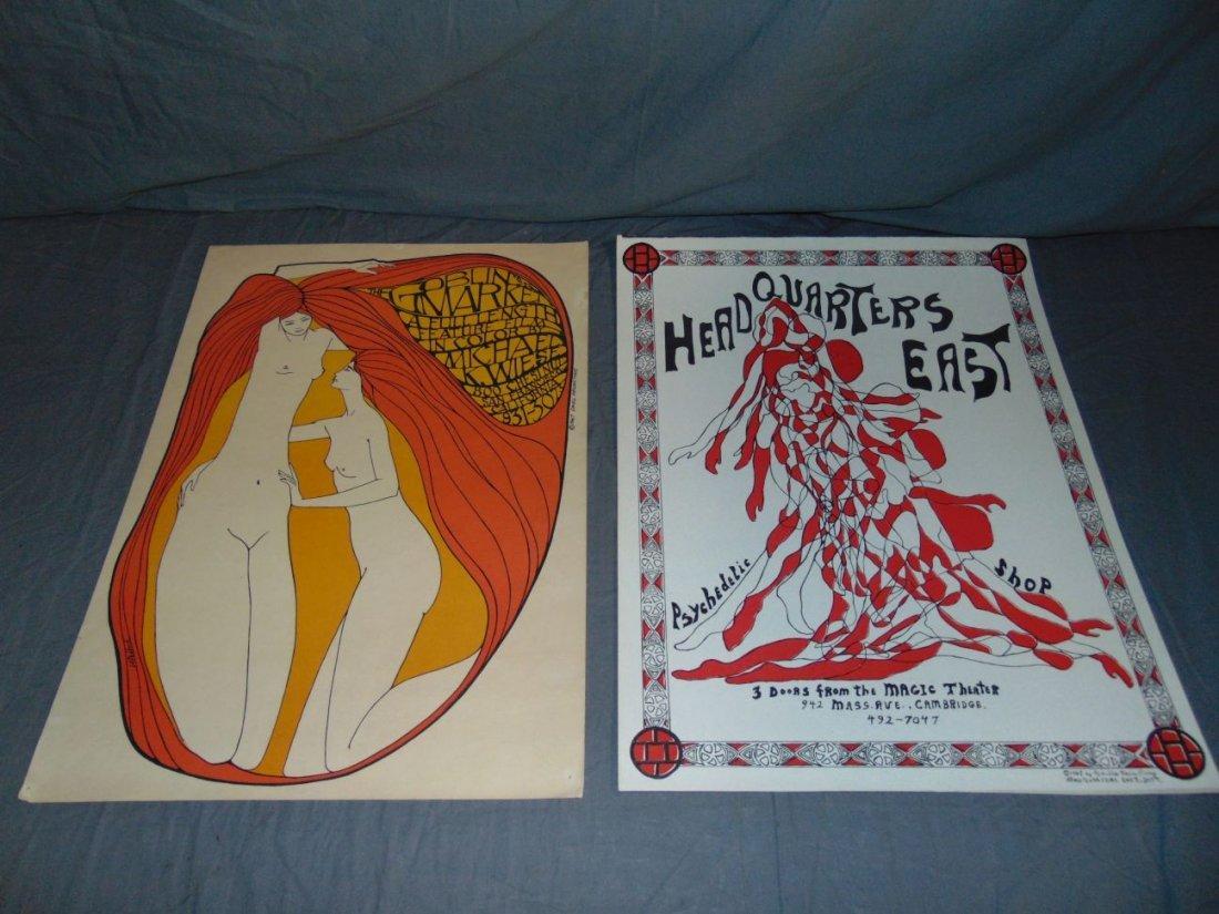 (9) Assorted Psychedelic Marijuana Posters - 3