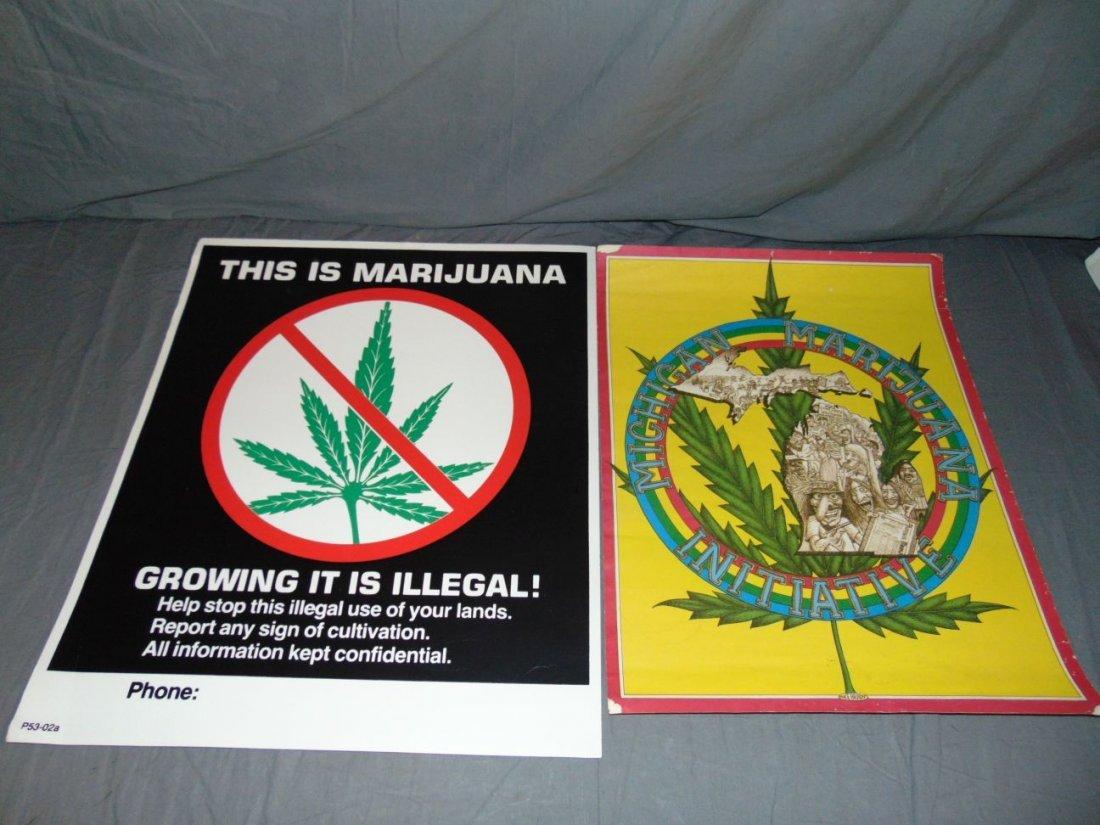 (9) Assorted Psychedelic Marijuana Posters - 4
