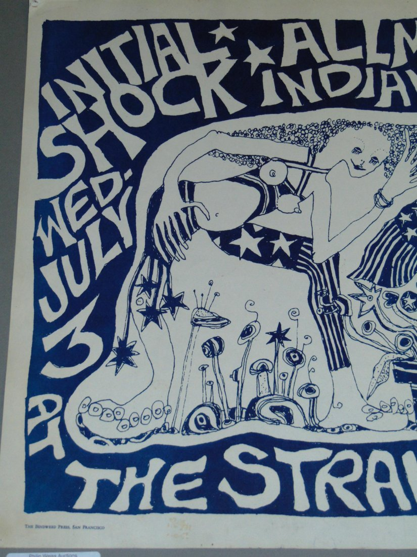 Rare 1968 Initial Shock Poster, Signed Mari Tepper - 2
