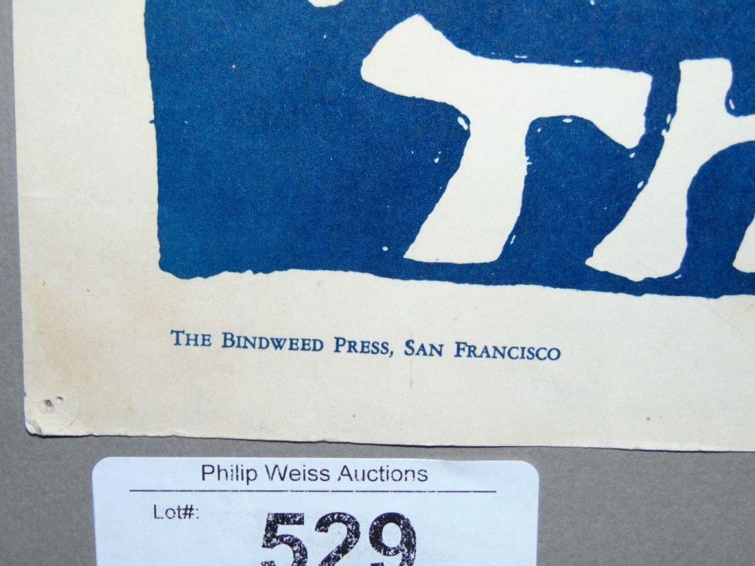 Rare 1968 Initial Shock Poster, Signed Mari Tepper - 5
