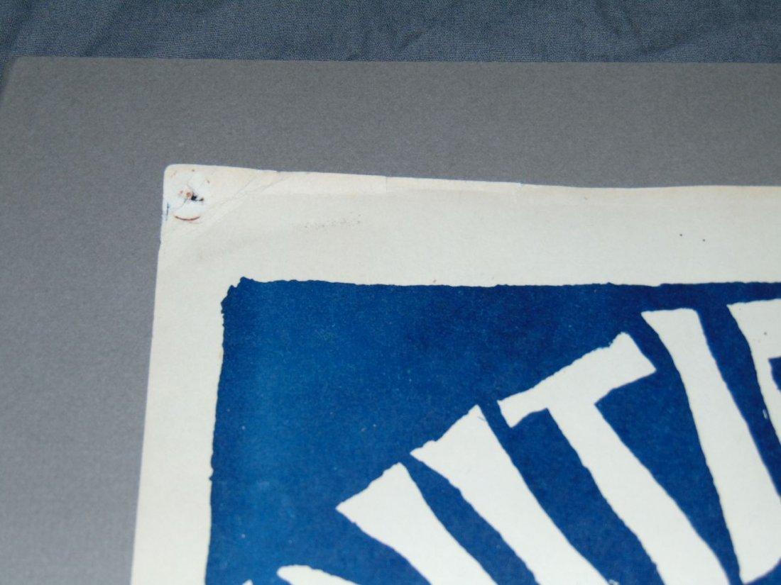 Rare 1968 Initial Shock Poster, Signed Mari Tepper - 8