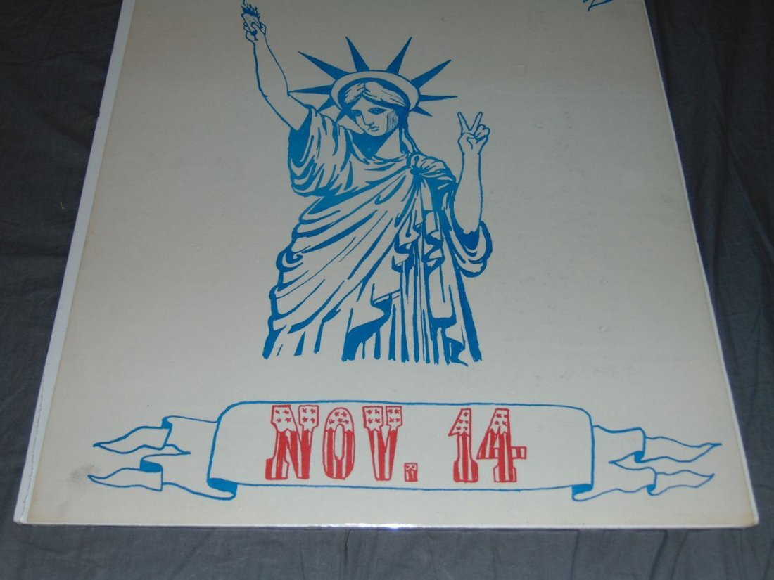 Resist the Draft Poster, Lady Liberty - 3
