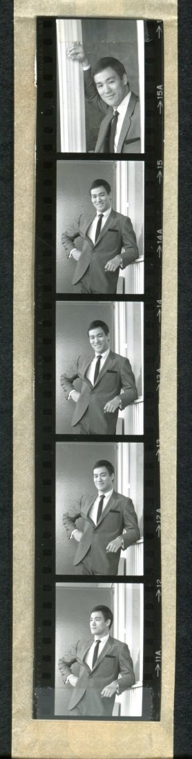 Group of Bruce Lee 35mm Negatives w/Contact Prints - 2