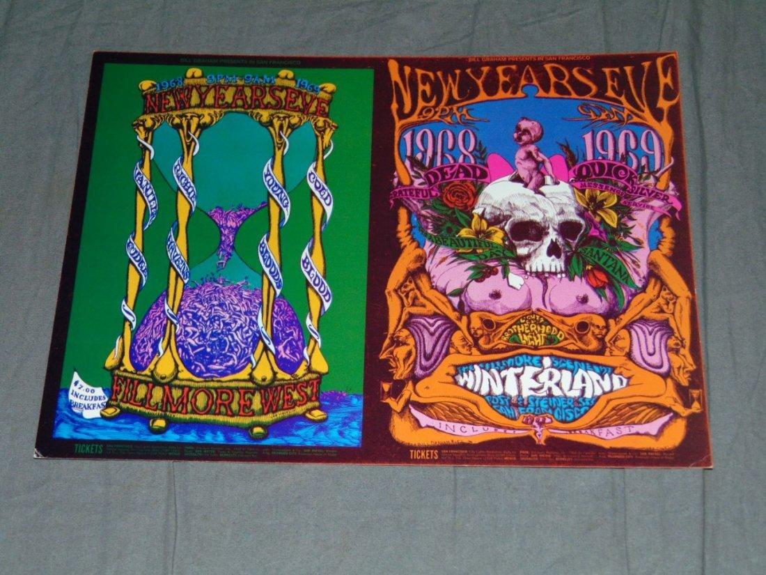 (2) Grateful Dead Fillmore Concert Handbills - 4